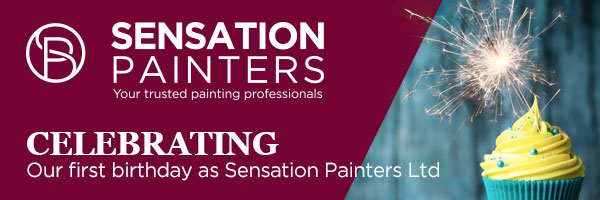 Celebrating Our First Birthday As Sensation Painters Ltd