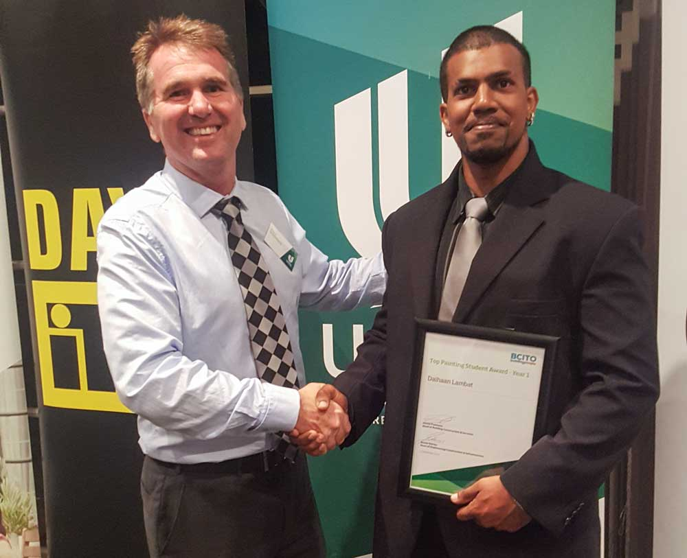 Unitec Apprentice Painter Of The Year