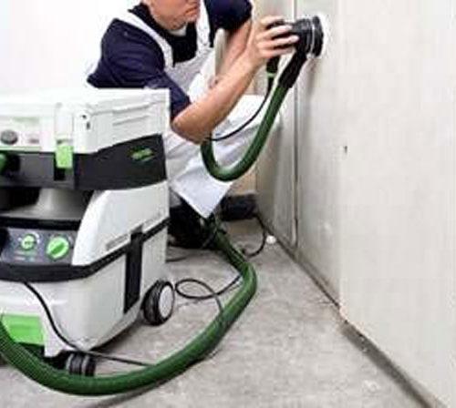 Sanding Machine With Extractor