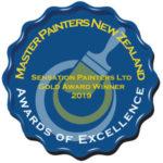 2019 Master Painters Gold Award
